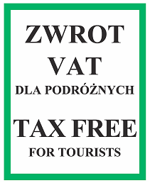 TAX FREE for Tourists